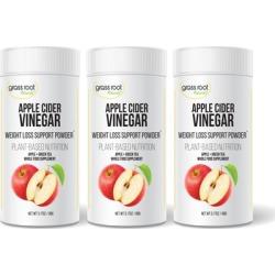 Apple Cider Vinegar and Green Tea Dietary Supplement (3-Pack)