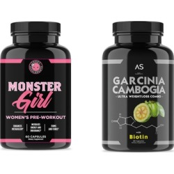 Angry Supplements Monster Girl and Garcinia with Biotin (2-Pack)