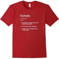 Bumpa Definition T Shirt - Funny Father's Day Gift Tee