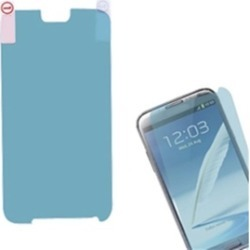 Insten LCD Screen Protector/Blue for Galaxy Note II, T889/I605/N7100