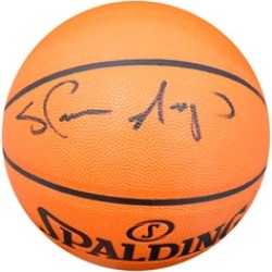 Autographed Shawn Kemp Seattle Sonics Spalding Basketball