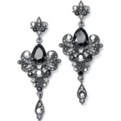 Art Nouveau Cubic Zirconia Wholesale Earrings 741E-JE