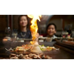 Japanese Steakhouse Dinner at Sagano Japanese Steakhouse (Up to 40% Off). Three Options Available.