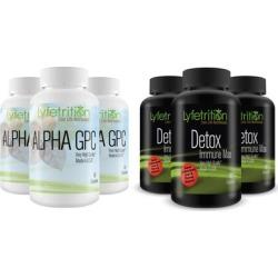 Lyfetrition Alpha GPC Premium Nootropic & /or Detox & Immune Max