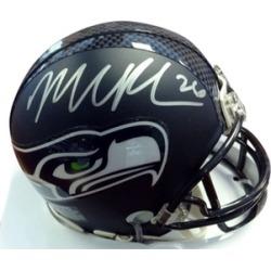 Autographed Michael Robinson Seattle Seahawks Mini Helmet
