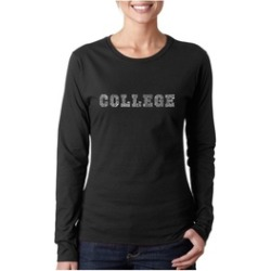 Women's Long Sleeve T-Shirt - COLLEGE DRINKING GAMES