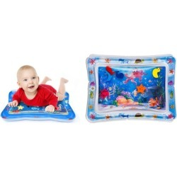 Baby Water Mat Infant Toy Inflatable Play Mat Floor Activity Crawling for Kids