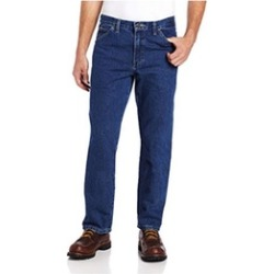 Dickies 36 34 Mens Relaxed Fit 5 Pocket Jean, Stonewashed Indigo Blue