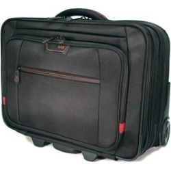 "Mobile Edge MEPRC1 Professional Rolling Laptop Case - 17.3"" - Black"