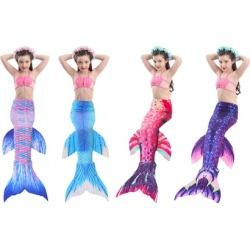 Kakawayi Womens Girls Mermaid Tails For Swimming 1 Piece