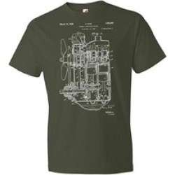 Henry Ford Internal Combustion Engine T-Shirt Mens