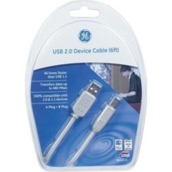 GE 3390135 6 ft. USB Device Cable found on Bargain Bro India from groupon for $18.52