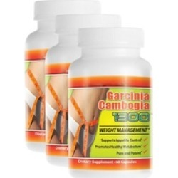High Effectly Garcinia Cambogia Extract 1000mg (3 Pack )