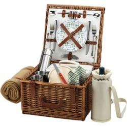 Cheshire Basket for 2 w/coffee set & blanket -Gazebo found on Bargain Bro India from groupon for $184.99