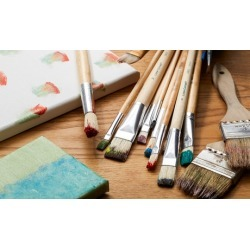 Painting Class for One or Two with All Supplies at Paint & Play Party Zone (Up to 44% Off)