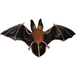 Sunny Toys NP8224C 25 In. Bat - Flying Fox, Animal Puppet
