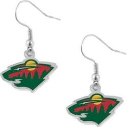 Sports Team Logo NHL Dangle Logo Earring Charm Gift Set