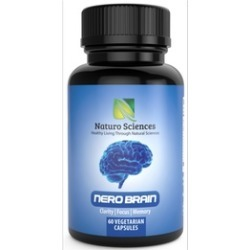 Naturo Sciences Nero Brain Booster Nootropic Supplement (60 Capsules)