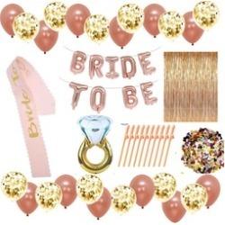 Bachelorette / bridal shower decoration set plus free printable games