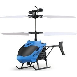 Mindkoo Flying Mini RC Infrared Induction Helicopter Aircraft Kid Toys