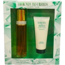 Diamonds & Emeralds by Elizabeth Taylor Womens Gift Set