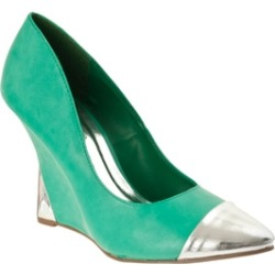 Riverberry Women's 'Zenon' Contrast-detail Wedges, Green