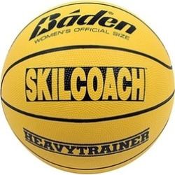 Baden BHT6R-00-F SkilCoach Official Heavy Trainer Yellow Rubber Basketball Size