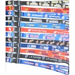 Official Licensed NHL Official Logo Breakaway Lanyard with Key Ring