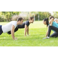DISCOUNT Five Boot-Camp Classes at Rise Up Fitness (64% Off)