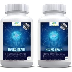 Brain and Memory Booster Supplement by Pure Particle, Set (2-Bottles)