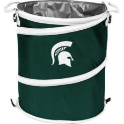 Logo Brands 172-35 NCAA Michigan State Spartans Trash Can