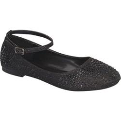 Womens Glitter Shiny Ballerina Ballet Slip On Ankle Strap Flats SH0018