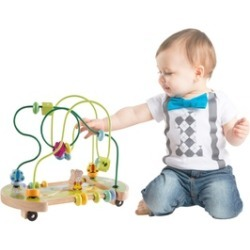 Baby Bead Maze Interactive Wooden Toy