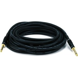 Monoprice 25ft Premier Series 1/4in TS Male to Male Audio Cable, 16AWG