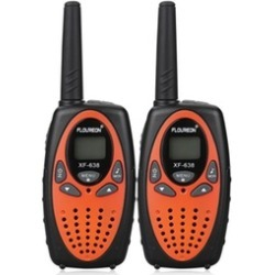 2x FLOUREON UHF 462-467MHz Two-way Radio 22CH 3KM