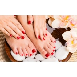 One or Two Spa Pedicures or One Mani-Pedi at Gente Spa Laser Center (Up to 39% Off)