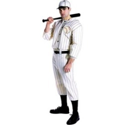 Costumes for All Occasions Gc7169 Old Tyme Baseball Player