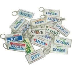 Club Pack of 288 State of Mississippi Male/Female Name Keychains
