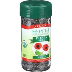 Organic Whole Poppy Seed ( 4 - 2.4 oz bottles )