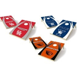 Wild Sports NCAA 2' x 3' Tailgate Toss Platinum V-Logo Game