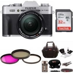 Fujifilm Mirrorless Camera w/ 32GB Card & Accessory