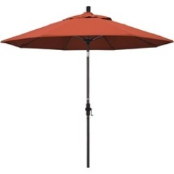 California Umbrella GSCUF908117-F27 9 ft. Fiberglass Market Umbrella found on Bargain Bro India from groupon for $176.63