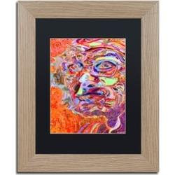 Josh Byer 'Chairman Of A 1966 Draft Board' Matted Birch Framed Art