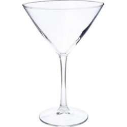 7507S4B Midtown 4 Piece Martini Glass
