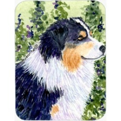 Carolines Treasures SS8737LCB 12 x 15 in. Australian Shepherd Glass Cutting Boar