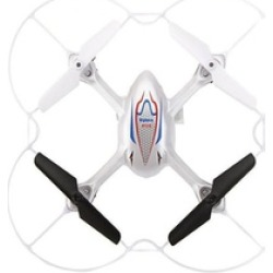 Remote Control Drone Quad Copter with HD Camera - White