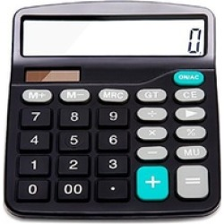 Calculator, Everplus Electronic Desktop Calculator