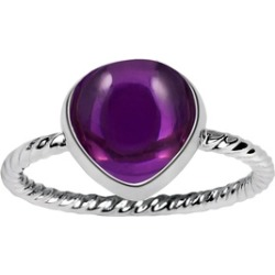 Orchid Jewelry 925 Sterling Silver 5 Carat Amethyst Ring