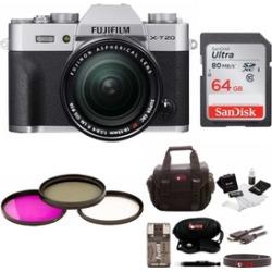 Fujifilm Mirrorless Camera w/ 64GB Card & Accessory