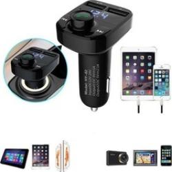 Bluetooth Car Kit Handsfree FM Transmitter Radio MP3 Player USB Charge